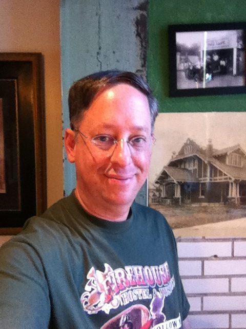 Scott, a team member at the Firehouse Hostel & Museum
