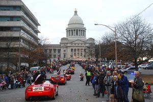 Little Rock's holiday parade, Saturday, December 2